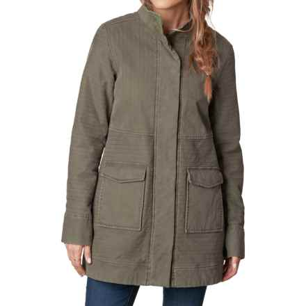 prAna Trip Jacket - Organic Cotton (For Women) in Cargo Green - Closeouts