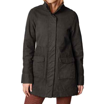 prAna Trip Jacket - Organic Cotton (For Women) in Charcoal - Closeouts