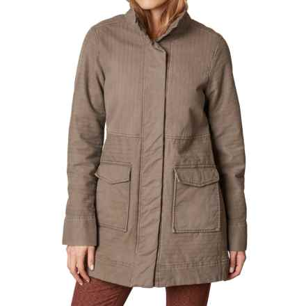prAna Trip Jacket - Organic Cotton (For Women) in Mud - Closeouts
