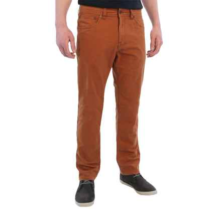prAna Tucson Pants - Organic Cotton (For Men) in Henna - Closeouts