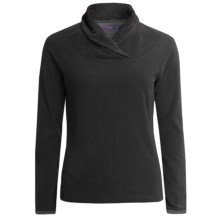 prAna Twisty Microfleece Pullover Shirt - Long Sleeve (For Women) in Black - Closeouts
