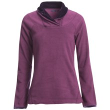 prAna Twisty Microfleece Pullover Shirt - Long Sleeve (For Women) in Iris - Closeouts