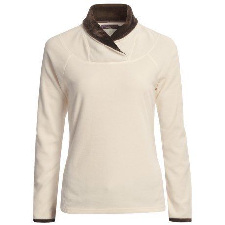 prAna Twisty Microfleece Pullover Shirt - Long Sleeve (For Women) in Winter