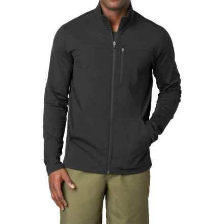 prAna Variable Full-Zip Jacket (For Men) in Black - Closeouts