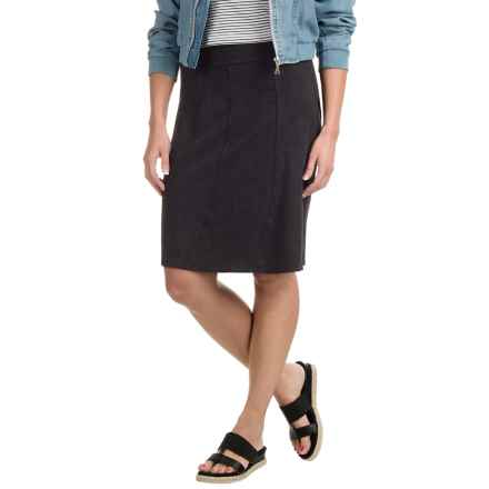 prAna Vendela Skirt - Organic Cotton (For Women) in Black - Closeouts