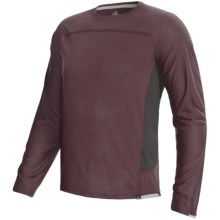 prAna Vertigo Shirt - Recycled Materials, Long Sleeve (For Men) in Thistle - Closeouts