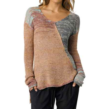 prAna Vignette Sweater (For Women) in Henna - Closeouts