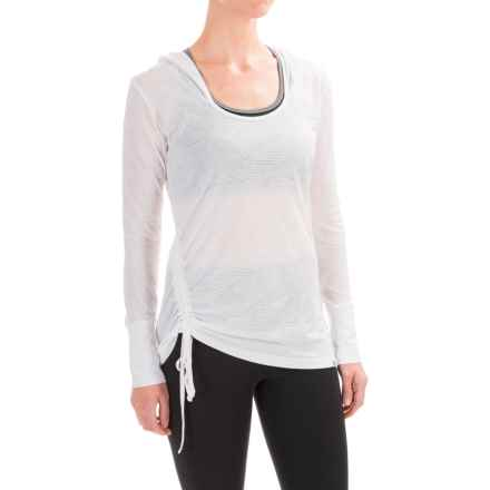 prAna Vinyasa Hoodie - Organic Cotton (For Women) in White - Closeouts