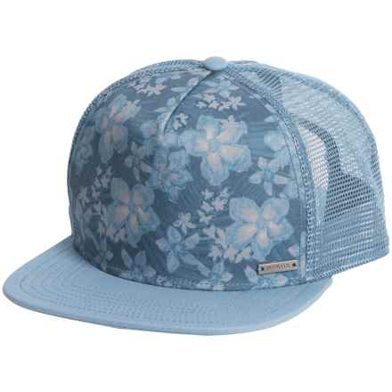 prAna Vista Trucker Hat (For Men) in Dusky Skies Aloha - Closeouts