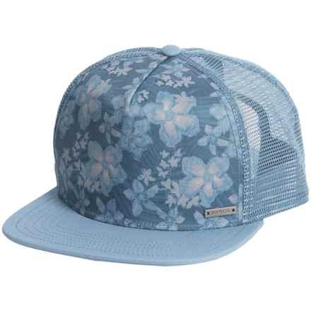 prAna Vista Trucker Hat (For Men) in Dusky Skies Aloha - Closeouts