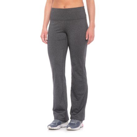 5d040df242a prAna Vivica Leggings - Wide Leg (For Women) in Charcoal Heather - Closeouts