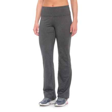 prAna Vivica Leggings - Wide Leg (For Women) in Charcoal Heather - Closeouts
