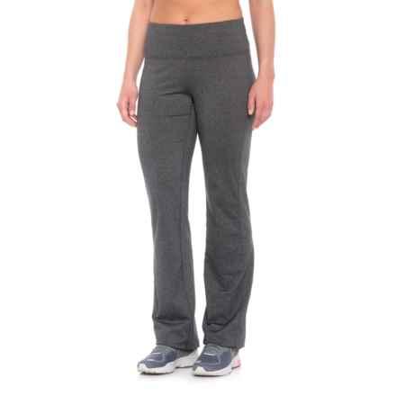 prAna Vivica Leggings - Wide Leg (For Women) in Charcoal Heather - Closeouts