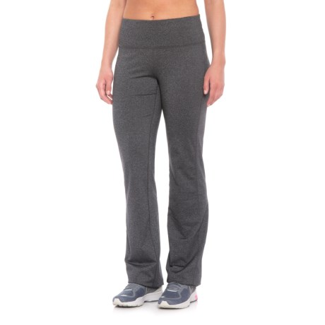 4bb28d7d6 prAna Vivica Leggings - Wide Leg (For Women) in Charcoal Heather