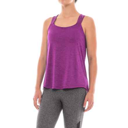 prAna Waterfall Tank Top - Built-In Bra (For Women) in Grapevine - Closeouts
