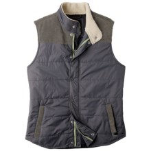 prAna Waylen Vest - Insulated (For Men) in Charcoal - Closeouts