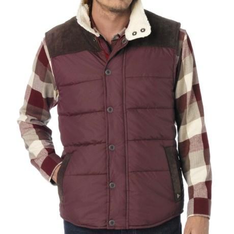 prAna Waylen Vest - Insulated (For Men) in Mahogany