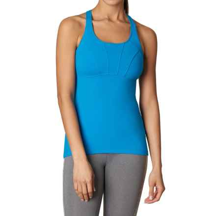 prAna Willa Shirt - Built-in Bra, Sleeveless (For Women) in Electro Blue - Closeouts