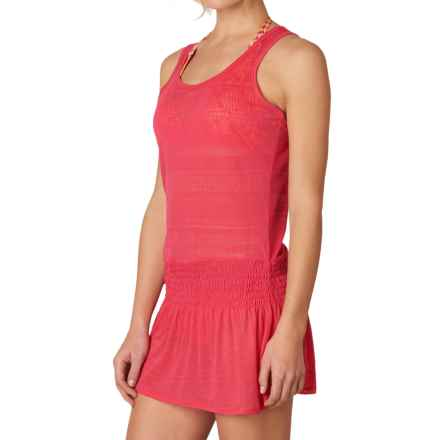 prAna Zadie Swimsuit Cover-Up Dress - Sleeveless (For Women) in Azalea - Closeouts