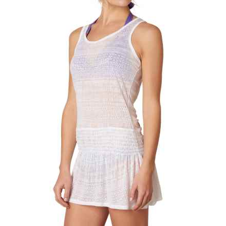 prAna Zadie Swimsuit Cover-Up Dress - Sleeveless (For Women) in White - Closeouts