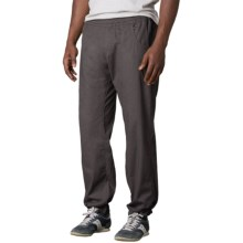 prAna Zander Pants - Cotton Blend (For Men) in Charcoal - Closeouts