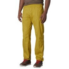 prAna Zander Pants - Cotton Blend (For Men) in Citronette - Closeouts