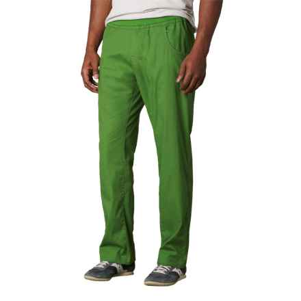 prAna Zander Pants - Cotton Blend (For Men) in Deep Jade - Closeouts