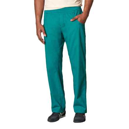 prAna Zander Pants - Cotton Blend (For Men) in Harbor Blue - Closeouts