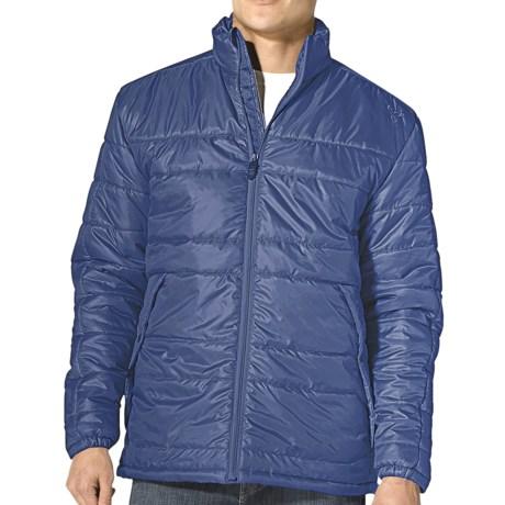prAna Zane Puffer Jacket - Insulated (For Men) in Sea Blue