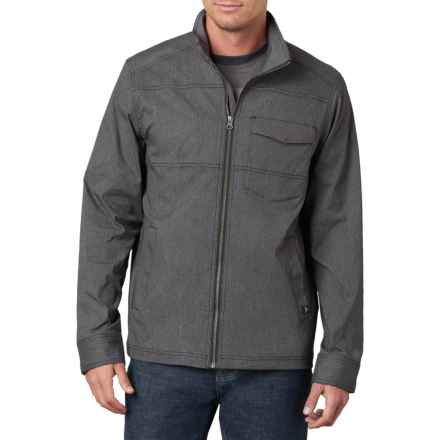 prAna Zion Jacket (For Men) in Charcoal - Closeouts