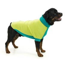 Premier Pet Fido Fleece Dog Sweater - Large Dogs, Size 24/26 in Limey Bones - Closeouts
