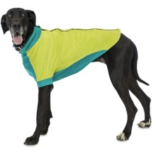 Premier Pet Fido Fleece Dog Sweater - Large-Extra Large Dogs, Size 28/30 in Limey Bones - Closeouts