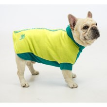 Premier Pet Fido Fleece Dog Sweater - Size 16/16BC in Limey Bones - Closeouts
