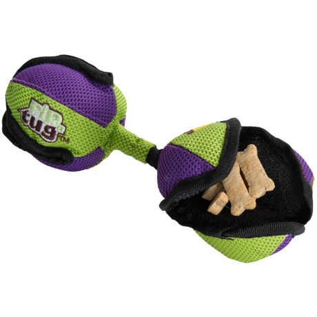 Premier Pet Rip 'n Tug Barbell Dog Toy - Small in See Photo