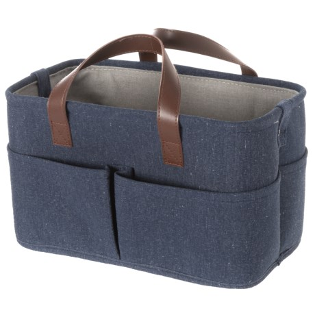 Premiere Living Rectangle 3-Pocket Utility Tote - Small in Denim