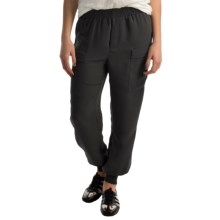 Premise Studio Double Pocket Joggers (For Women) in Black - Closeouts