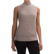 Premise Studio Mock Neck Sweater - Sleeveless (For Women) in Classic Taupe - Overstock