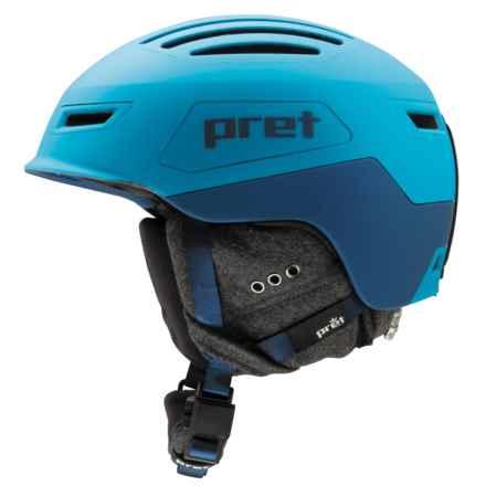 Pret Cirque Ski Helmet in Signature Blue - Closeouts