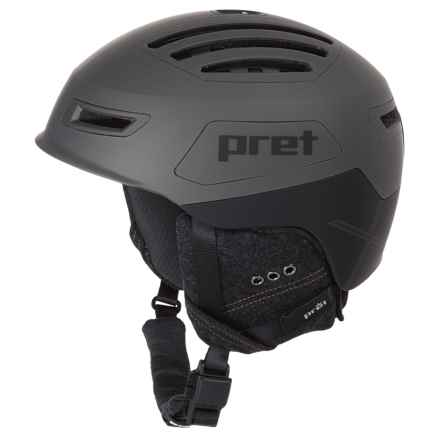 Pret Cirque X Ski Helmet in Rubber Mercury - Closeouts