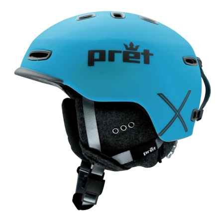 Pret Cynic X Ski Helmet - MIPS (For Men) in Rubber Signature Blue - Closeouts