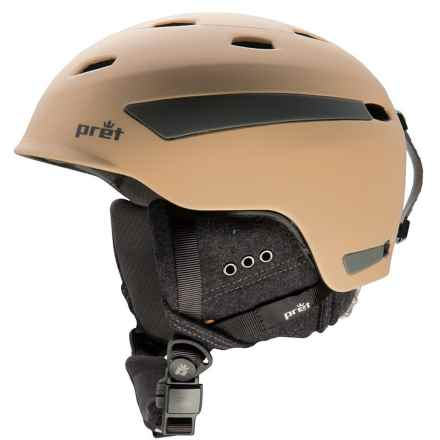 Pret Effect Snowsport Helmet in Rubber Baja - Closeouts