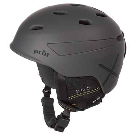 Pret Effect X Ski Helmet in Rubber Mercury - Closeouts