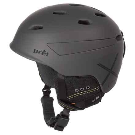 Pret Effect X Ski Helmet in Rubber Mercury - Closeouts