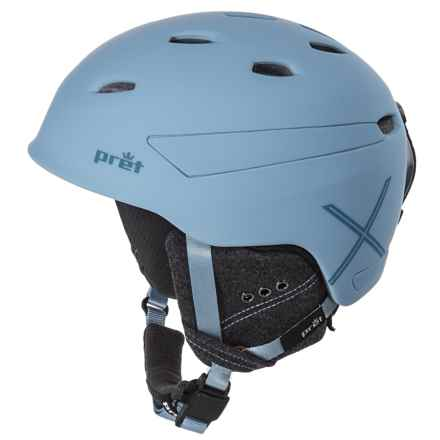 Pret Effect X Ski Helmet in Rubber Powder - Closeouts