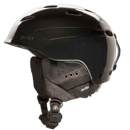 Pret Facet Snowsport Helmet (For Women) in Pearl Black - Closeouts