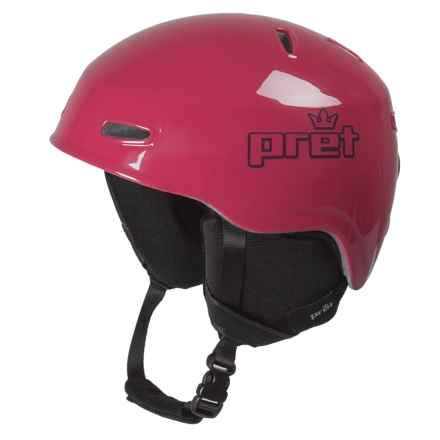 Pret Kid Lid Ski Helmet (For Kids) in Gloss Cherry - Closeouts