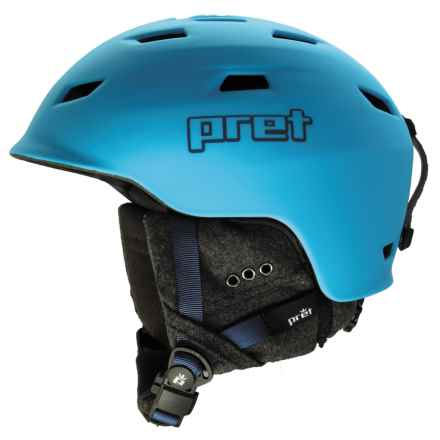 Pret Shaman Ski Helmet in Rubber Artic - Closeouts