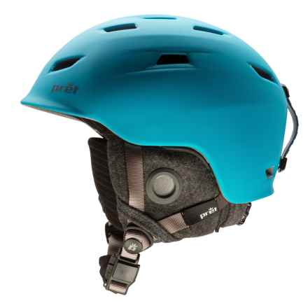 Pret Shaman Ski Helmet in Rubber Hawaii Blue - Closeouts