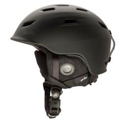 Pret Shaman Ski Helmet in Rubber Jet Black