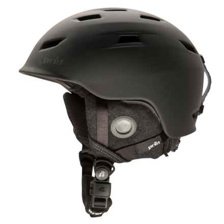 Pret Shaman Ski Helmet in Rubber Jet Black - Closeouts